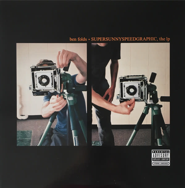 "Vinyl Used Ben Folds ""Supersunnyspeedgraphic, the LP"""