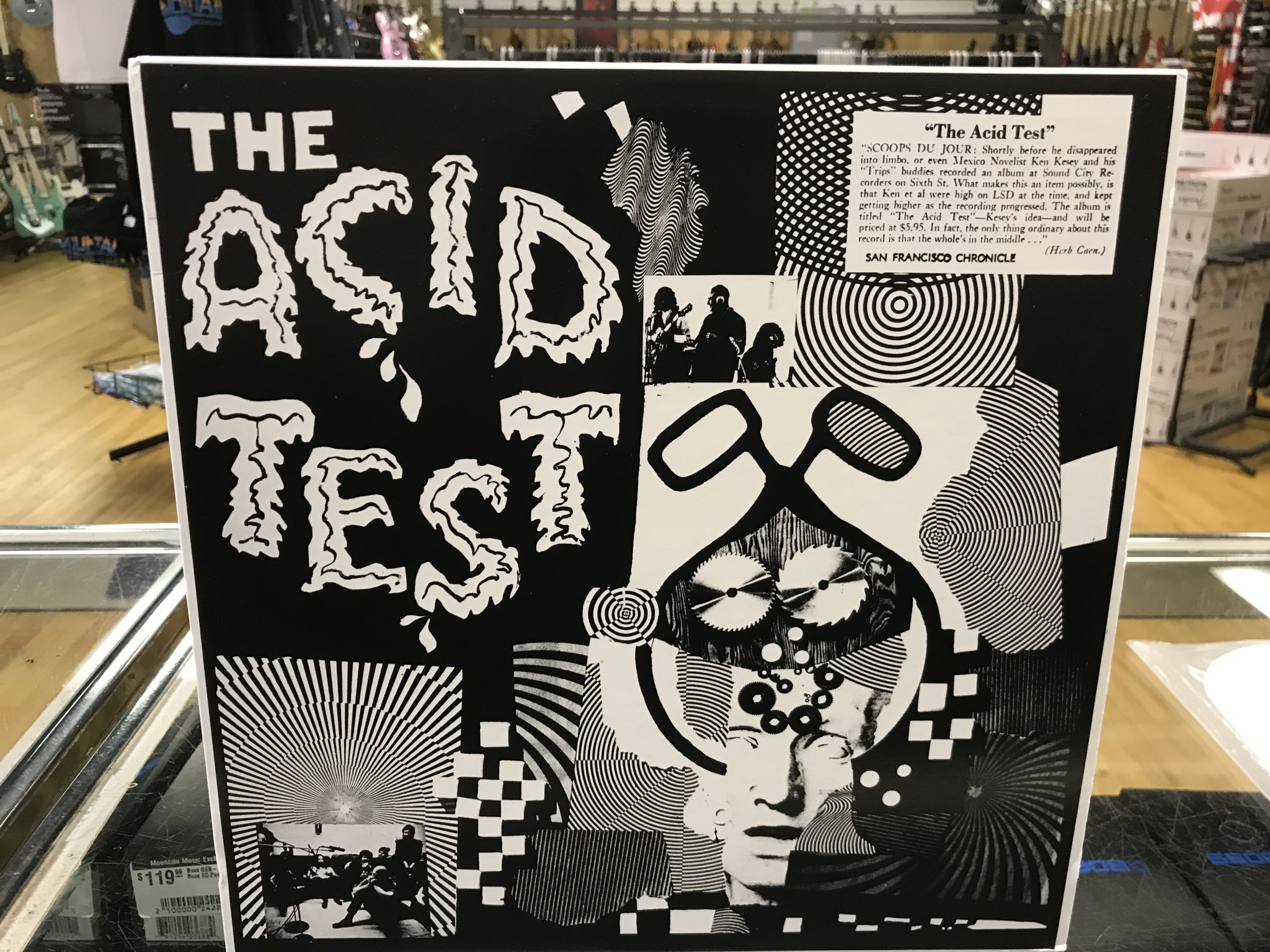 """Vinyl Used Ken Kesey """"The Acid Test"""" LP-Limited Edition"""