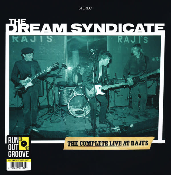 """Vinyl Used The Dream Syndicate """"The Complete Live at Raji's"""" Dount LP Limited Edition"""