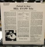 "Vinyl Used Bill Evans Trio ""Portrait in Jazz"""