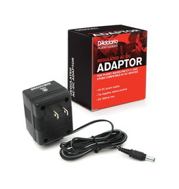 D'Addario NEW Planet Waves PW-CT-9V Regulated AC-DC 9V Power Adapter
