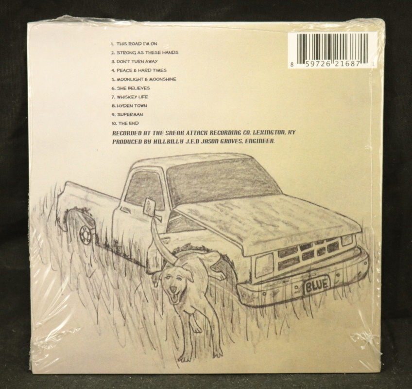 Local Music NEW Hillbilly J.E.D - This Road I'm On - CD