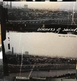 "Vinyl Used Sinners and Saints ""The Sky is Falling"" LP-White Vinyl"