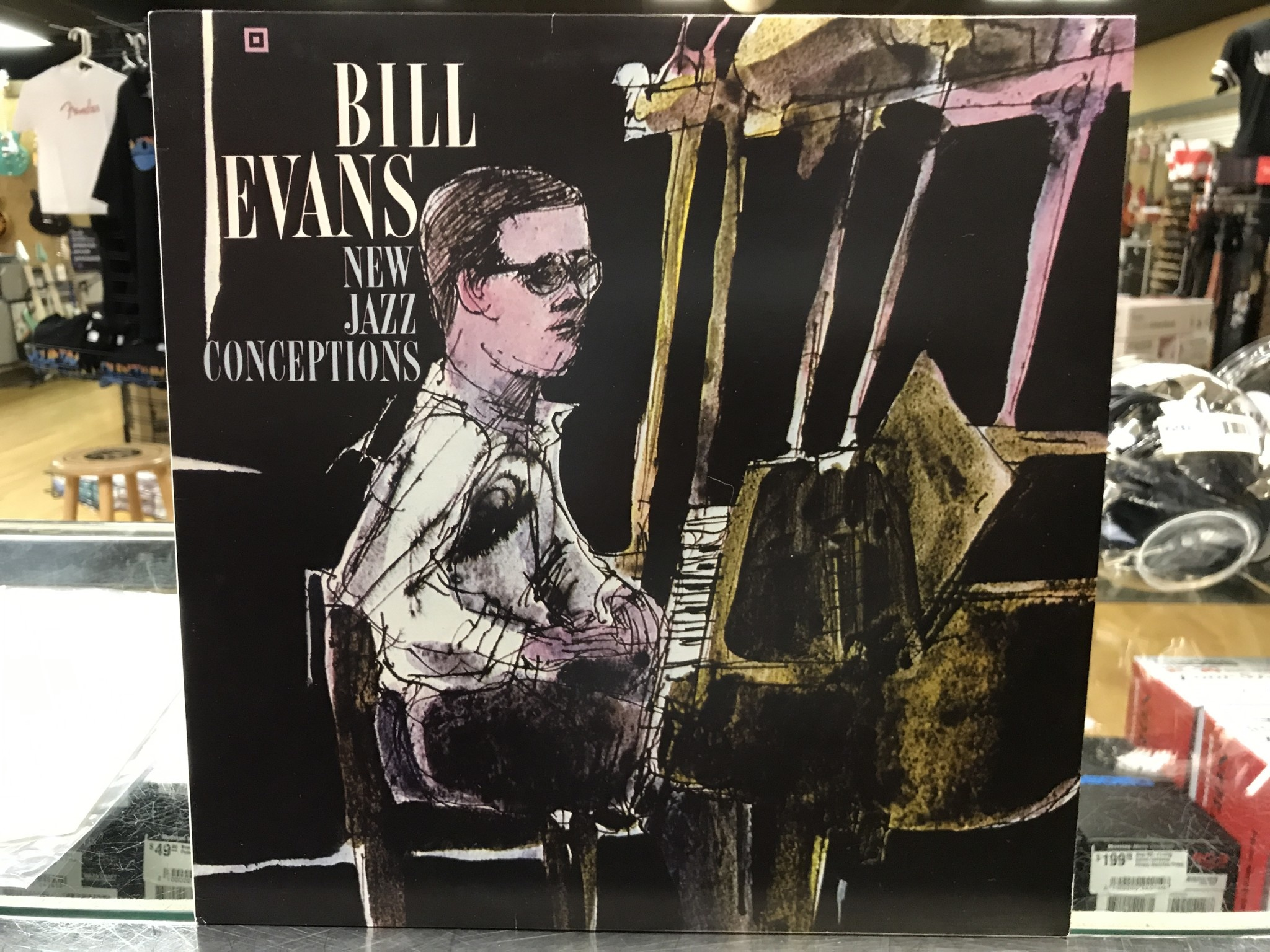 "Vinyl Used Bill Evans ""New Jazz Conceptions"" LP"