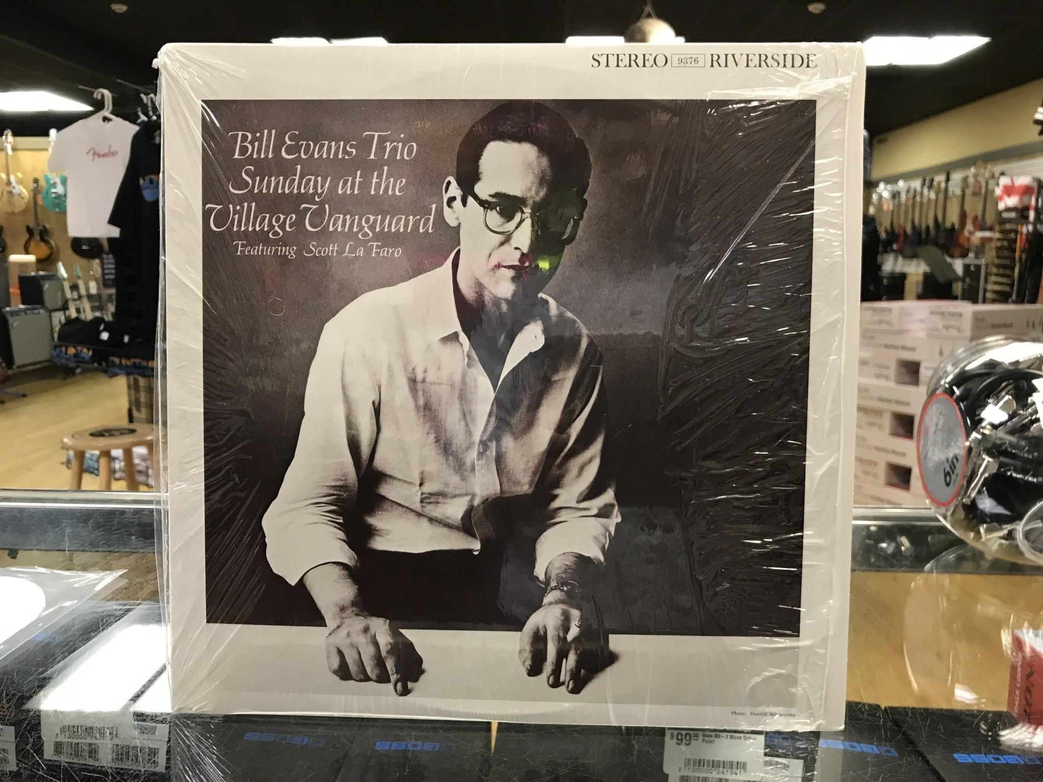 "Vinyl Used Bill Evans Trio ""Sunday at the Village Vanguard"" LP"