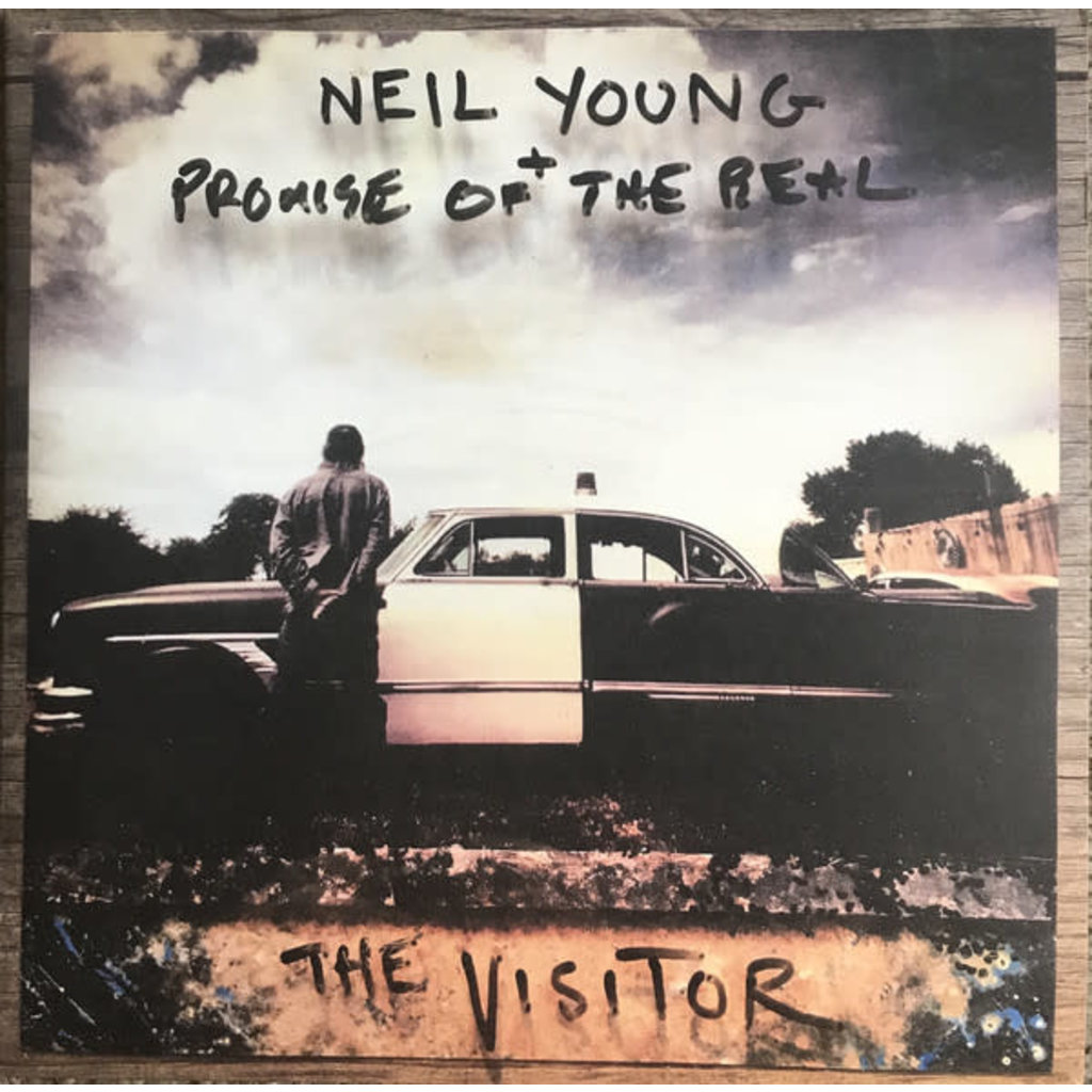 "Vinyl New Neil Young & Promise of the Real ""Visitor"" LP"