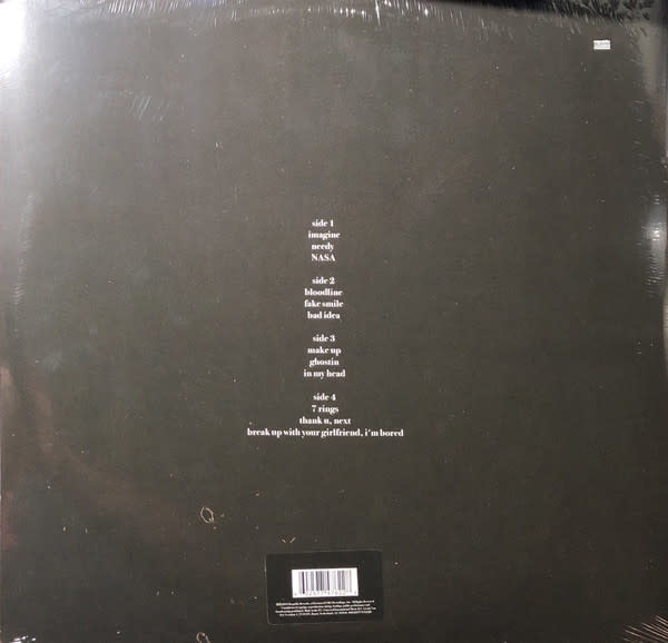 "Vinyl New Ariana Grande ""Thank u, Next"" Double LP"