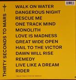 "Vinyl New Thirty Seconds to Mars ""America"" LP-White Vinyl"