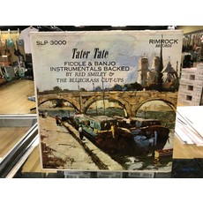 """Vinyl Used Tater Tate """"Fiddle and Banjo Instrumentals Backed by Red Smiley & The Bluegrass Cut-Ups"""" LP"""