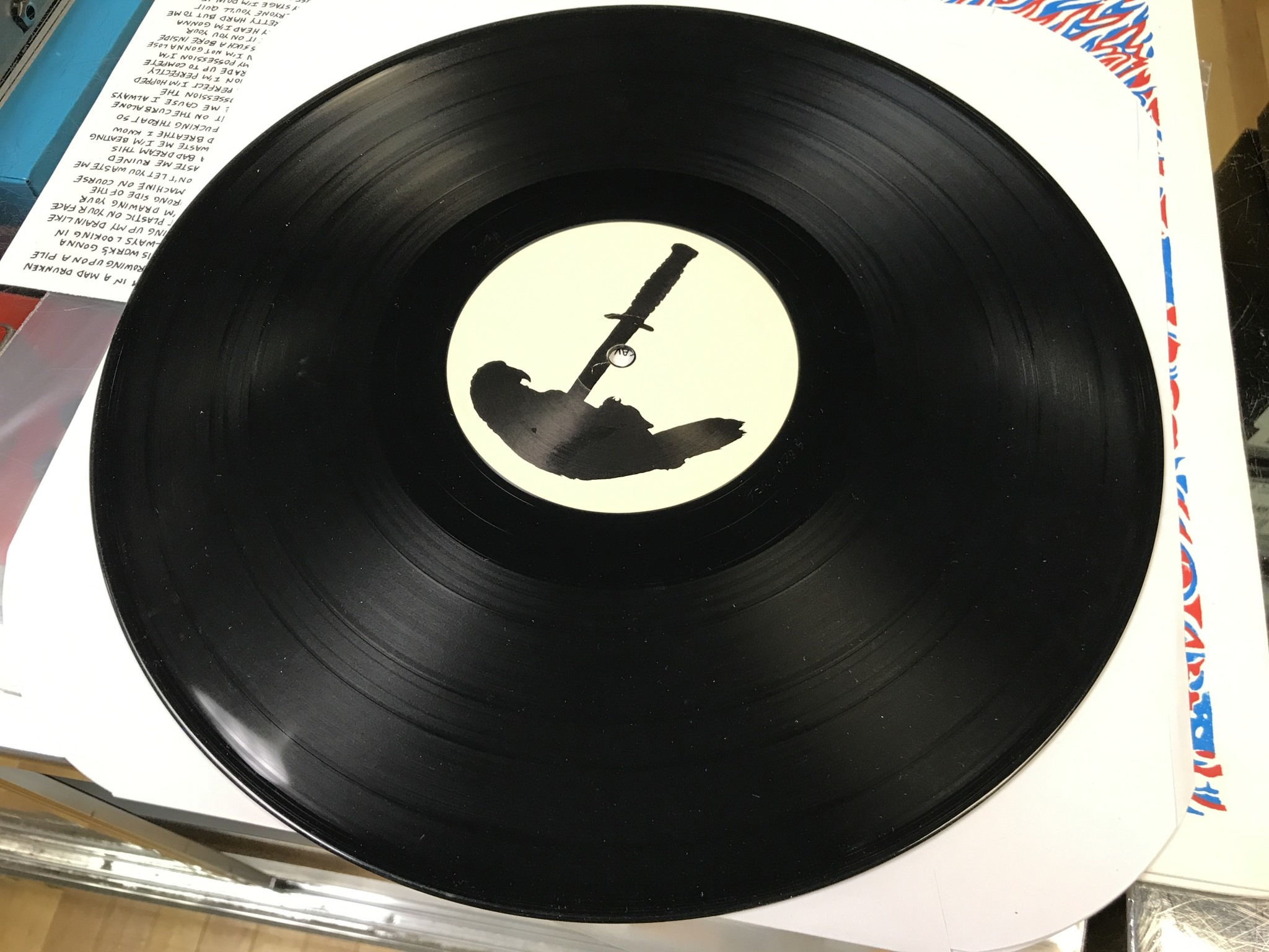 "Vinyl Used The Energy ""The Energy's First Album"" LP"