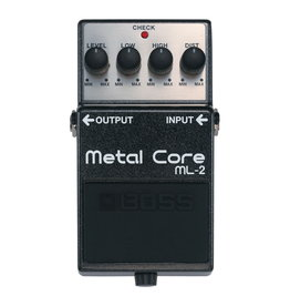 Boss NEW Boss ML-2 Metal Core Distortion