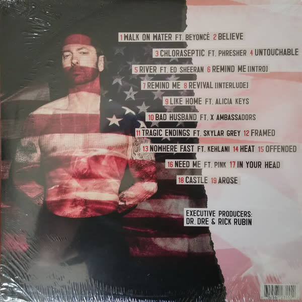 "Vinyl New Eminem ""Revival"" Double LP"