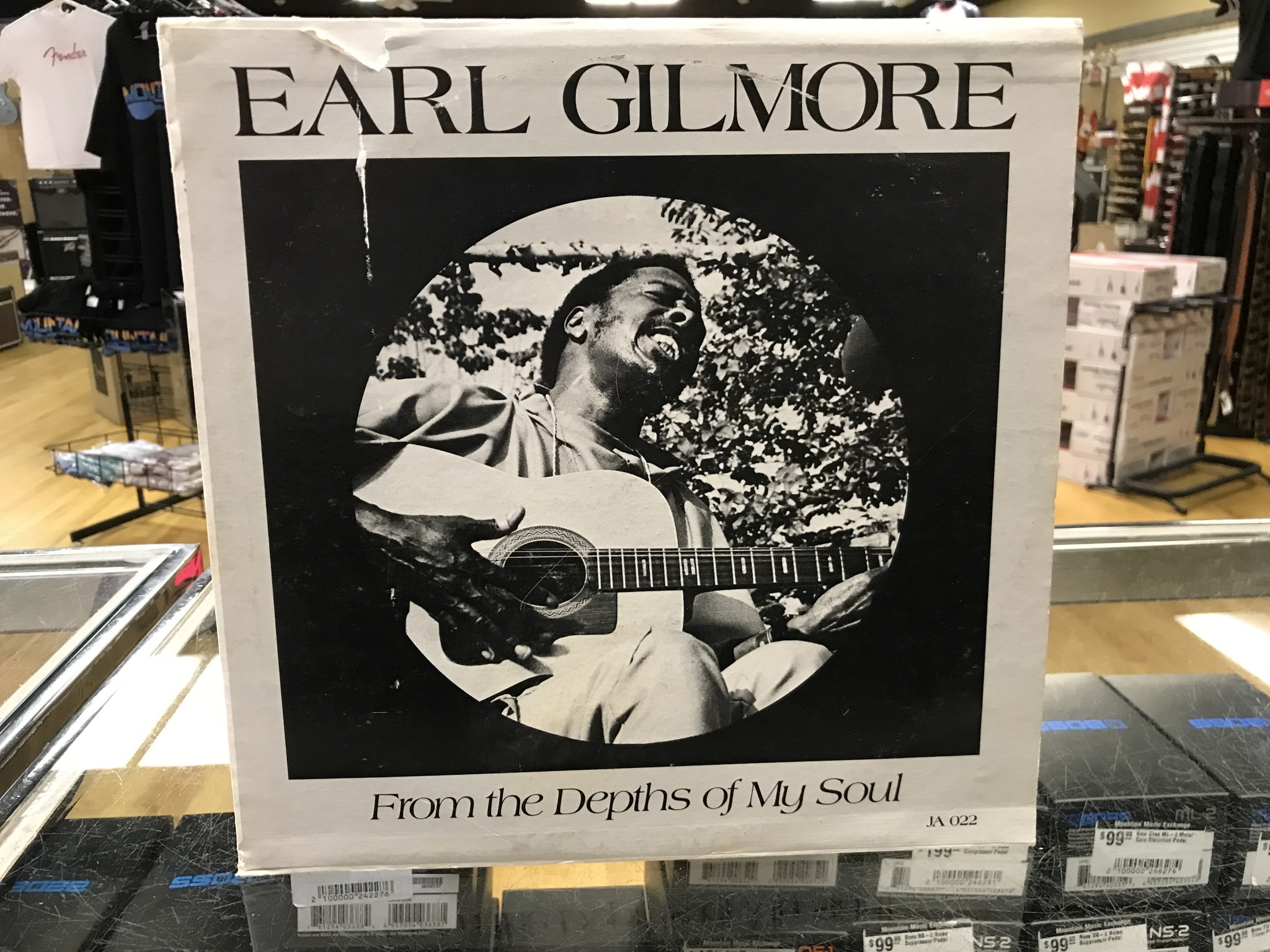 """Vinyl Used Earl Gilmore """"From the Depths of My Soul"""" LP"""