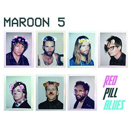 "Vinyl New Maroon 5 ""Red Pill Blues"" LP-Colored Vinyl"