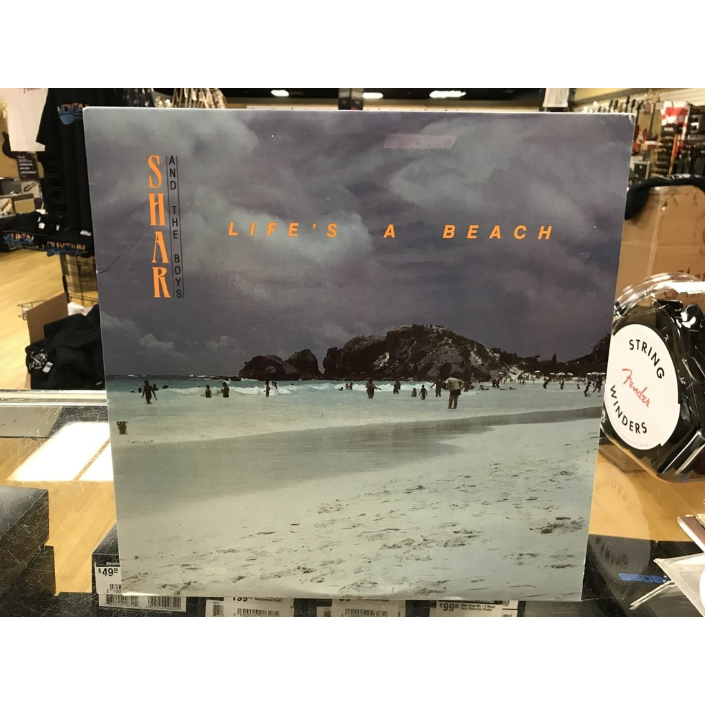 """Vinyl Used Shar and The Boys """"Life's A Beach"""" LP"""