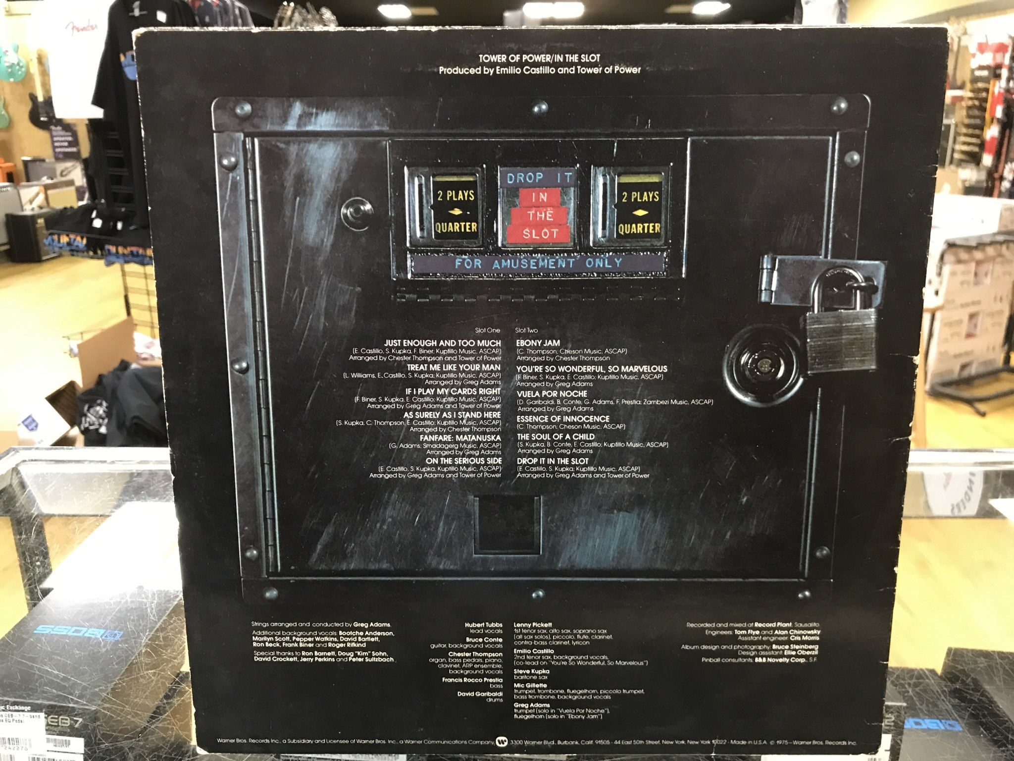 """Vinyl Used Tower of Power """"In the Slot"""" LP"""