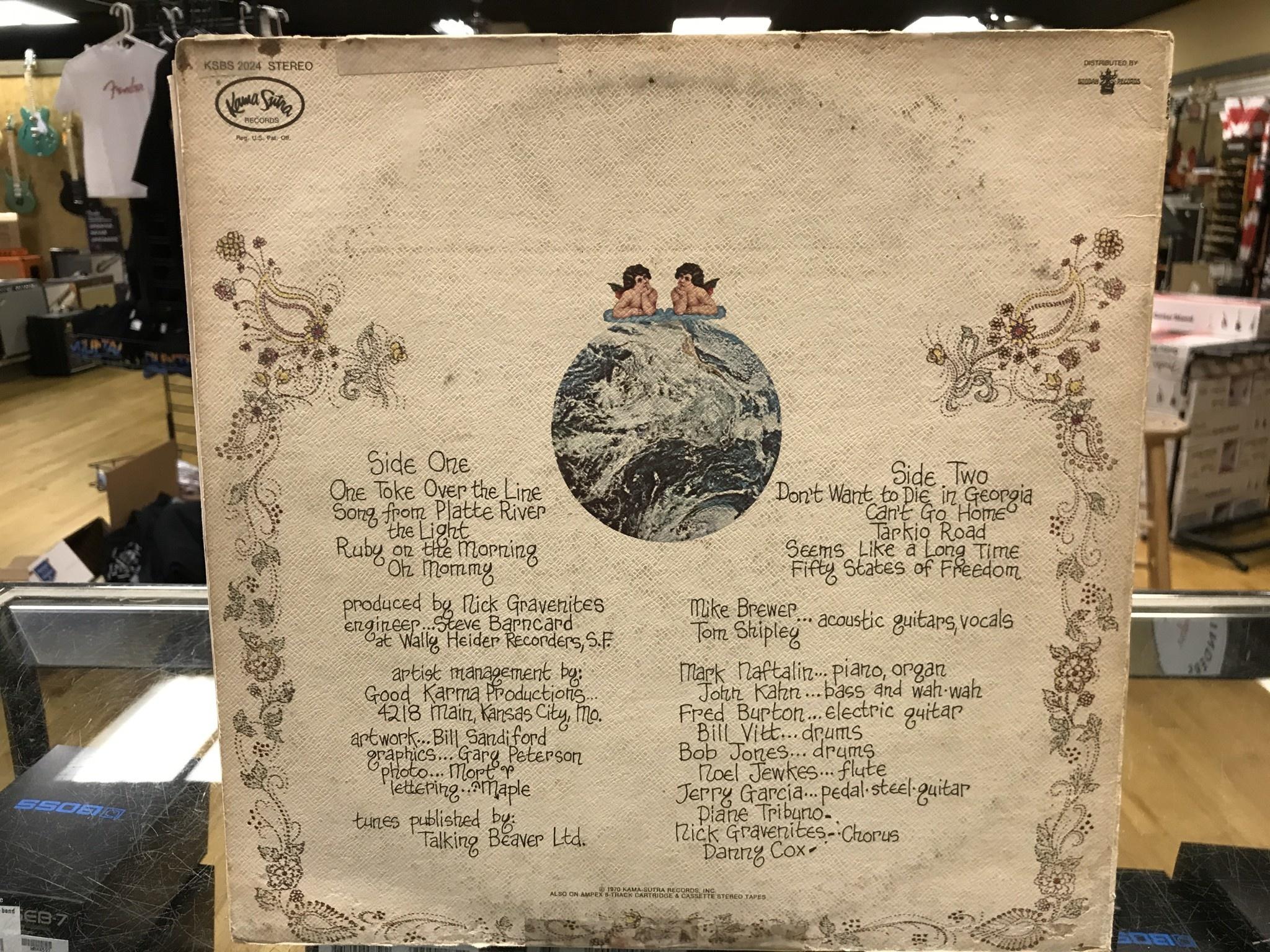 "Vinyl Used Brewer and Shipley ""Tarkio"" LP-Gatefold"