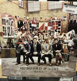 "Vinyl Used Mumford & Sons ""Babel"" LP-Gatefold"