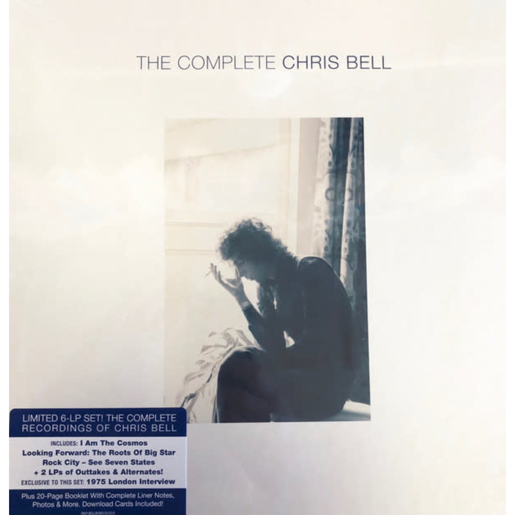 "Vinyl New Chris Bell ""The Complete Chris Bell"" Box Set-Limited Edition"