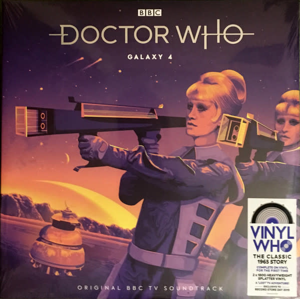 """Vinyl New RSD19  Doctor Who """"Galaxy 4""""-Double LP-Limited Edition"""