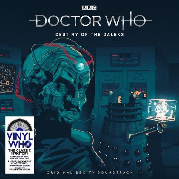 "Vinyl New RSD19 Doctor Who ""Destiny of the Daleks""-LP-Limited Edition"