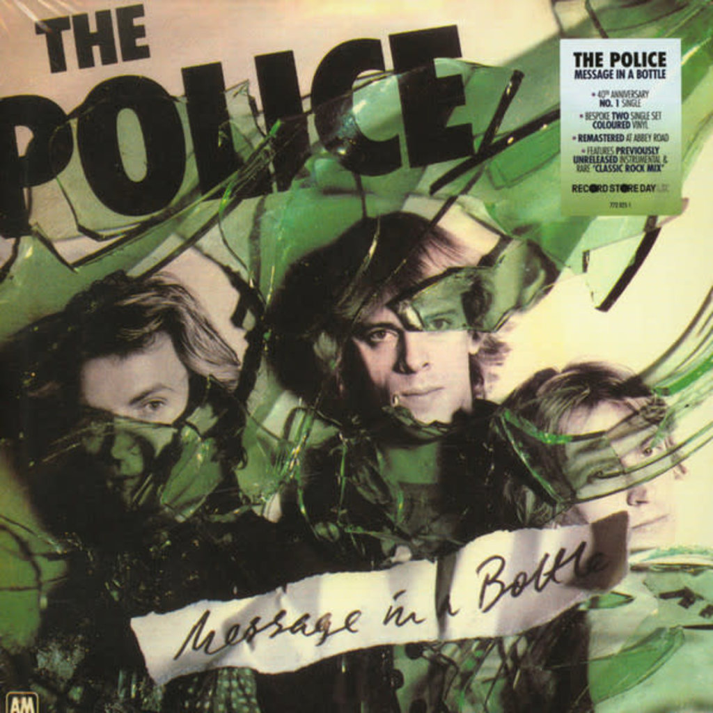 "Vinyl New RSD19 Police ""Message in a Bottle""-7in-Limited Edition"