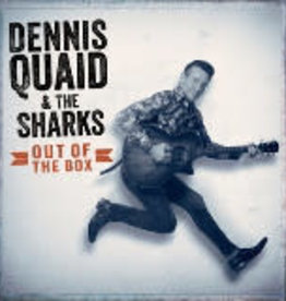 """Vinyl New RSD19  Dennis Quaid & The Sharks """"Out Of The Box"""" LP-Limited Edition"""