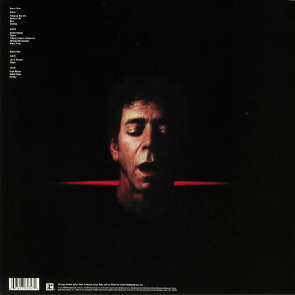 "Vinyl New RSD19 Lou Reed ""Ecstasy"" LP-Limited Edition"
