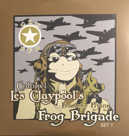 "Vinyl New Les Claypool Fearless Flying Frog Brigade ""Live Frogs Set 1&2"" 3xVinyl-Lime Green Splatter Vinyl"