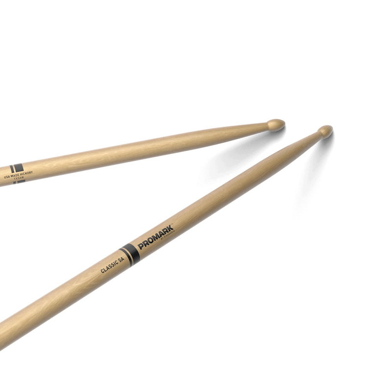 Pro-Mark NEW Promark Classic 5A Hickory - Wood Tip