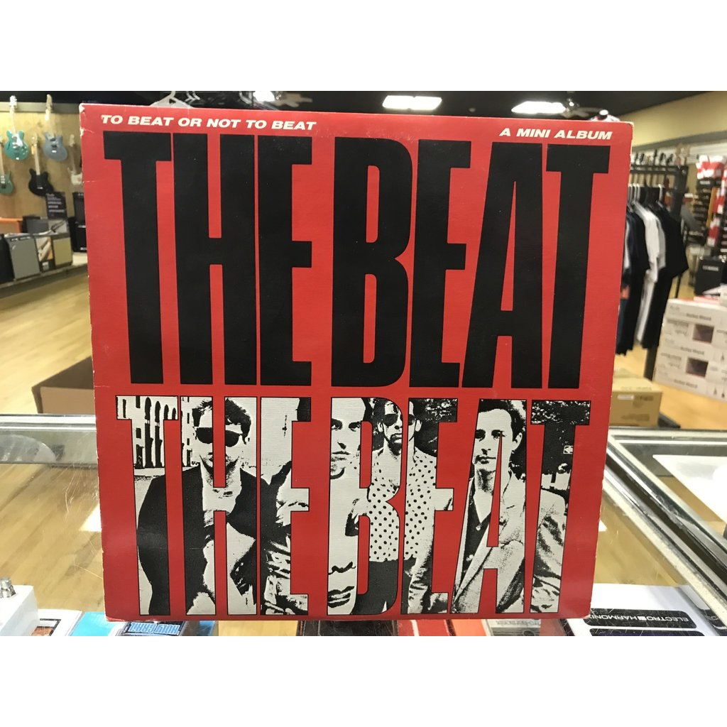 """Vinyl Used The Beat """"To Beat or Not To Beat""""Mini LP"""