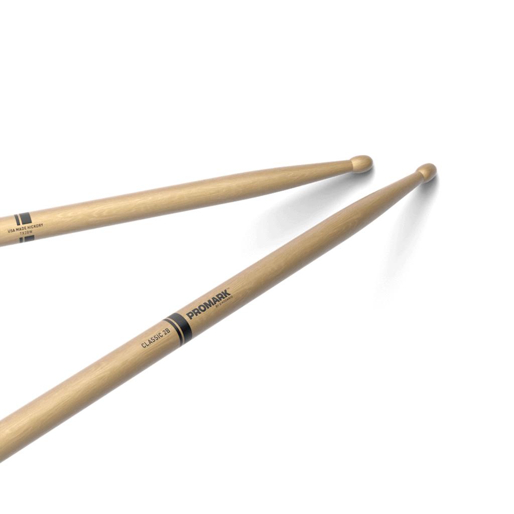 Pro-Mark NEW Promark Classic 2B Hickory - Wood Tip