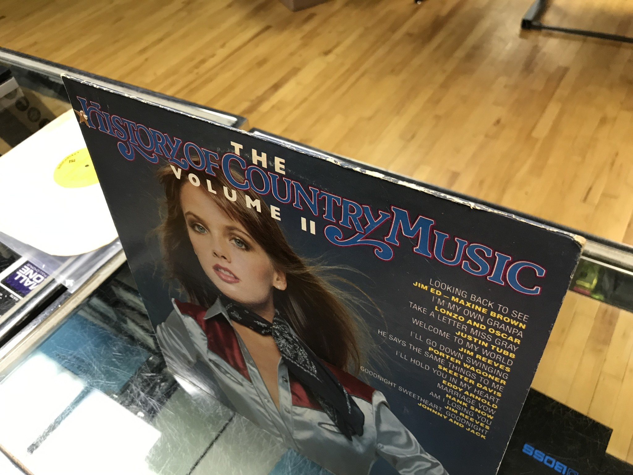 Vinyl Used The History Of Country Music Volume 2-LP