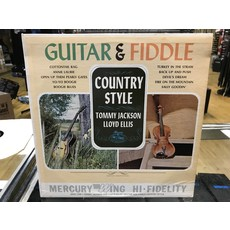 """Vinyl Used  Tommy Jackson And Lloyd Ellis """"Guitar And Fiddle Country Style"""" LP"""