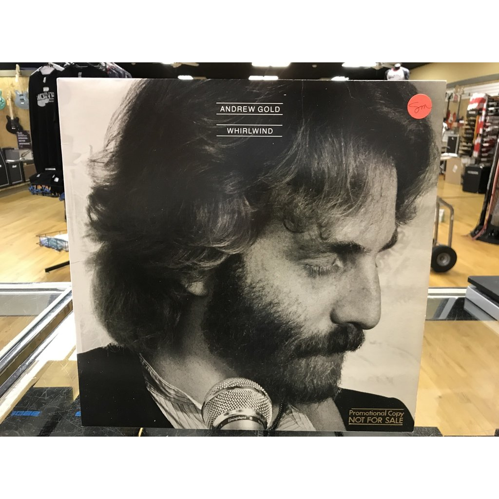 "Vinyl Used Andrew Gold ‎""Whirlwind"" LP-Promotional Copy"
