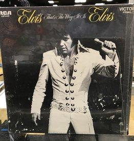 """Vinyl Used  Elvis Presley """"That's The Way It Is"""" LP-Rockaway Pressing"""