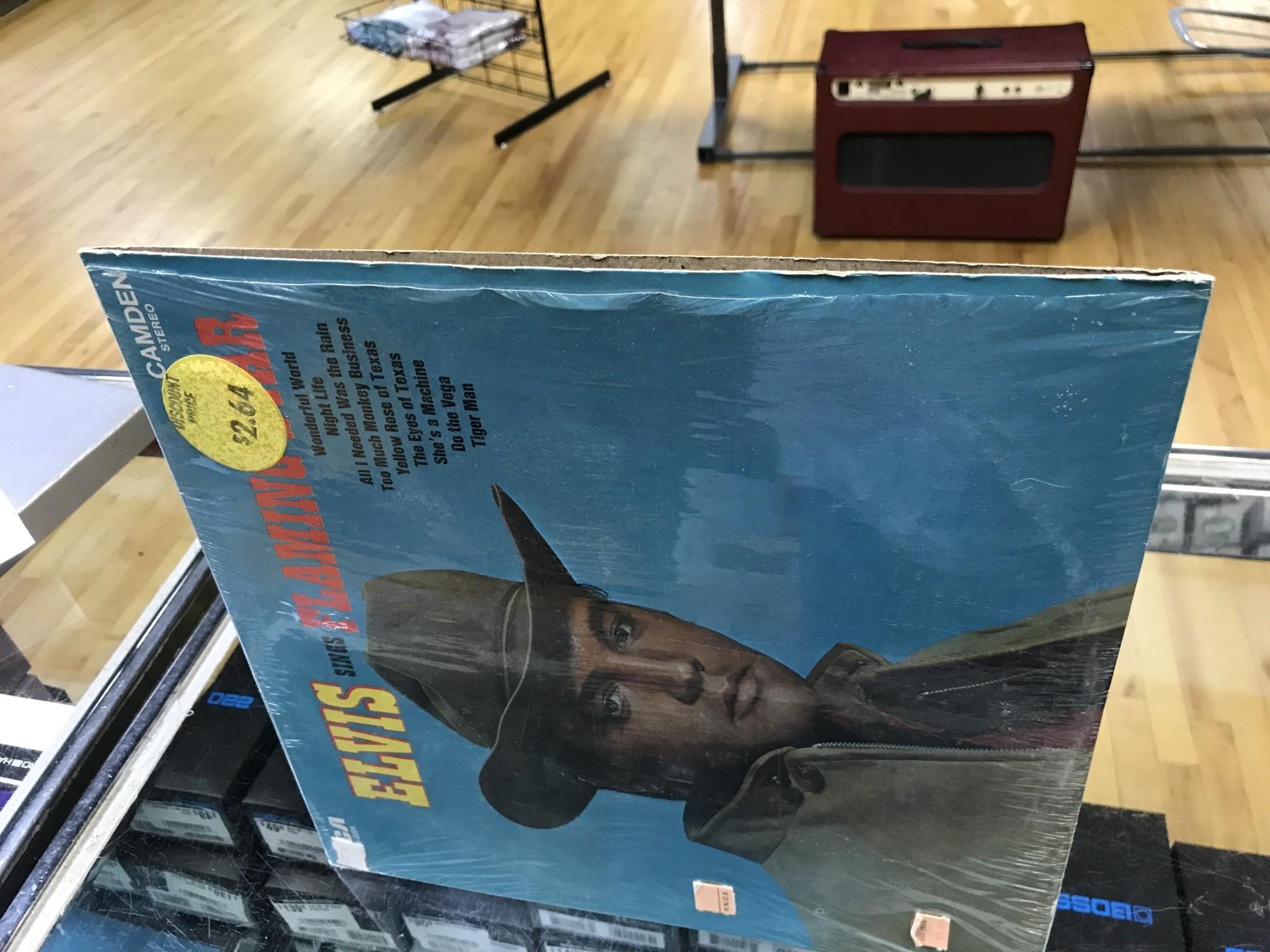 """Vinyl Used  Elvis Presley """"Elvis Sings Flaming Star"""" LP"""