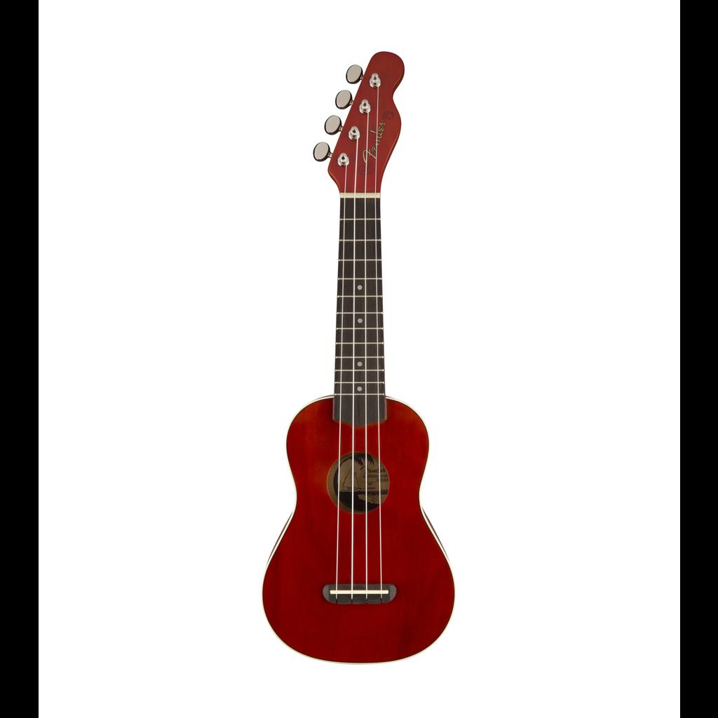 Fender NEW Fender Venice Soprano Uke - Cherry