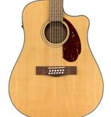 Fender NEW Fender CD-140SCE 12-String - Natural w/Case (494)