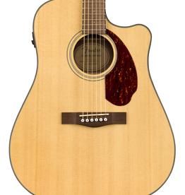 Fender NEW Fender CD-140SCE Dreadnought - Natural w/Case (114)