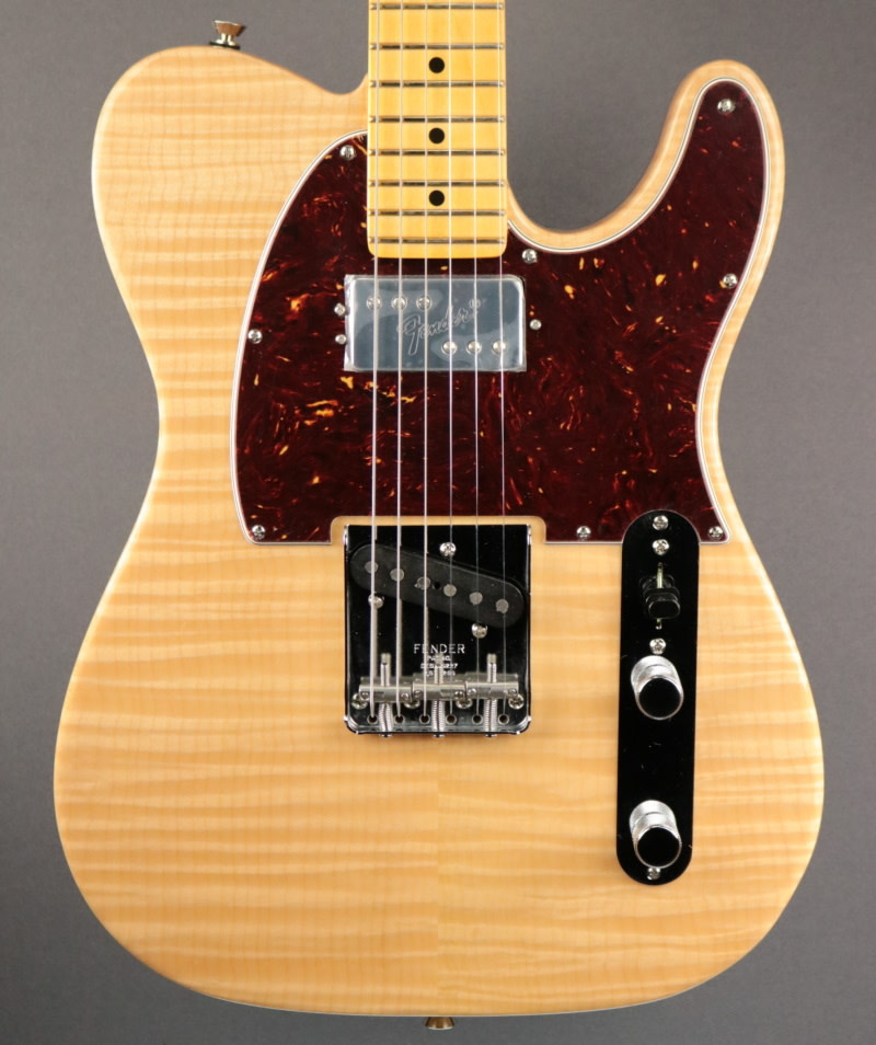 Fender NEW Fender Rarities Chambered Telecaster Flame Maple Top - Natural (431)