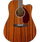 Fender NEW Fender CD-140SCE Dreadnought - All-Mahogany w/Case (989)