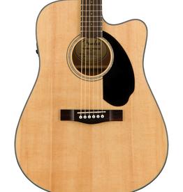 Fender NEW Fender CD-60SCE Dreadnought - Natural (217)