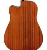 Fender NEW Fender CD-60SCE Dreadnought - All-Mahogany (677)