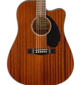Fender NEW Fender CD-60SCE Dreadnought - All-Mahogany (680)