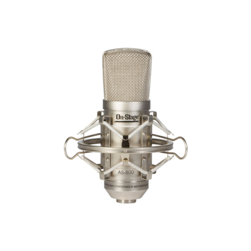 On Stage NEW On-Stage AS800 FET Condenser Microphone