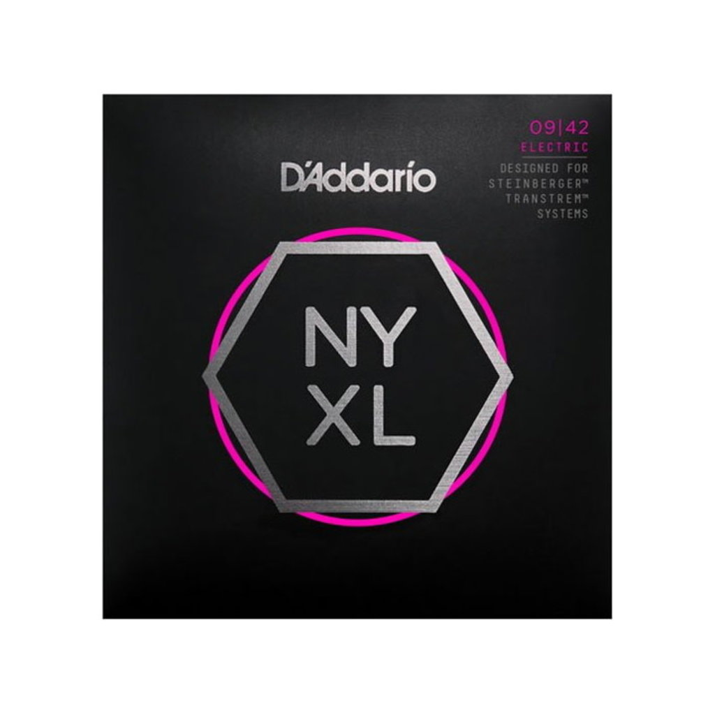 D'Addario NEW D'Addario NYXLS Steinberger Double Ball End Strings - Super Light - .009-.042