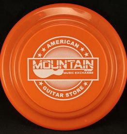 MME Mountain Music Exchange Frisbee - Orange