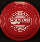 MME Mountain Music Exchange Frisbee - Red