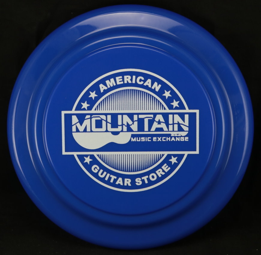 MME Mountain Music Exchange Frisbee - Blue